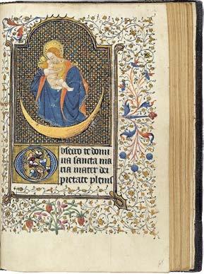 livre d'Heures exécuté en Bretagne au début du XVème siècle